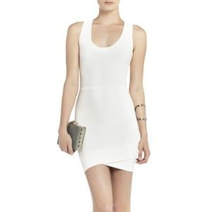 BCBG Gisela Cocktail Dress in White